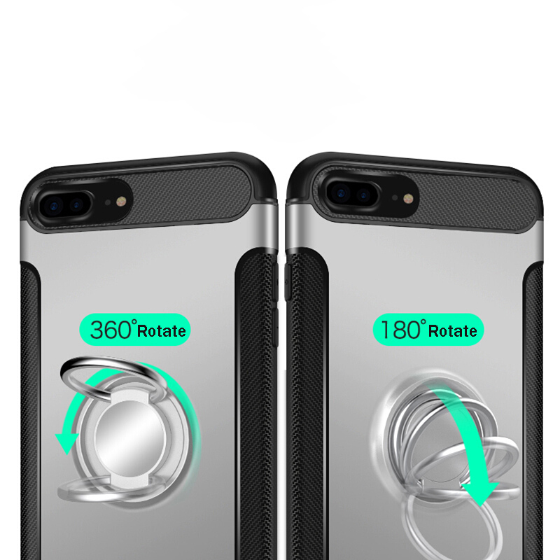 Suntaiho Shockproof Holder Phone Case for iPhone XS MAX case 8 plus for Xiaomi Redmi note 5 Pro case for Samsung note9 note8 S9