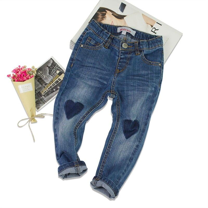 Anak Perempuan Biru Jeans Celana Bayi Kartun Gadis Balita Celana Legging Cinta Peach Bebe Jeans 3 8 Tahun Anak Pakaian Girls Denim Jeans Jeans Washedgirls Designer Jeans Aliexpress