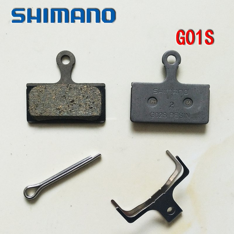Shimano <font><b>G01S</b></font> Resin Bike Bicycle Brake Pads Set for XT SLX ALFINE BR-M985/M666/M785/S700 image