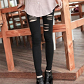 Sexy Slimming Leggings for Women Girls Fashion Ripped Hollow Out leggins Leggings with Holes Skinny Pants Trousers