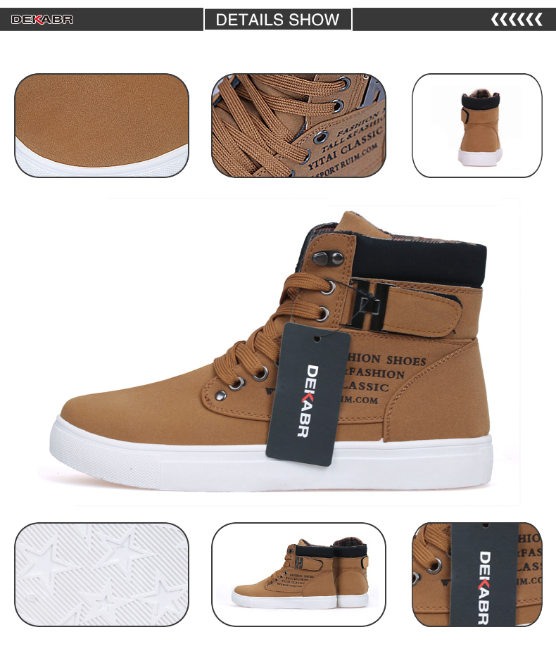 HTB1pLvXr2iSBuNkSnhJq6zDcpXad DEKABR Hot Men Shoes Fashion Warm Fur Winter Men Boots Autumn Leather Footwear For Man New High Top Canvas Casual Shoes Men