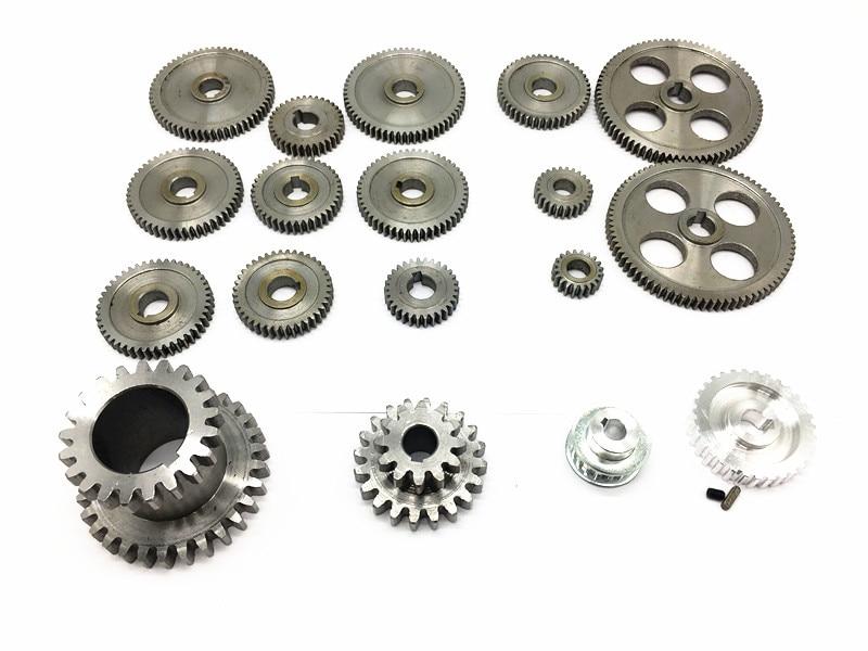 Freeshipping 18pcs In 1 SIEG CJ0618 Lathe Gear Mini Lathe Gears Metal Cutting Machine Gears