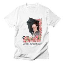 LettBao Camiseta Kpop Bts Bangtan Meninos T-shirt JIMIN SUGA V JIN JUNG  KOOK K-pop Mulheres Camisa Harajuku rap Monstro TShirt B.. bc98f81d94fb8