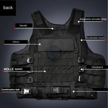 Airsoft Combat Tactical Vest
