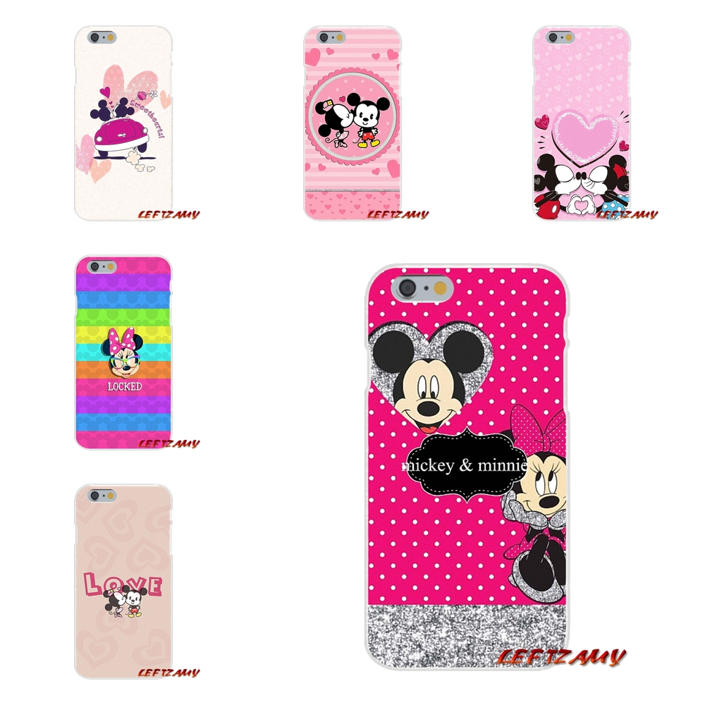 For Samsung Galaxy A3 A5 A7 J1 J2 J3 J5 J7 2015 2016 2017 Lovely Minnie mouse 2 Accessories Phone Shell Covers