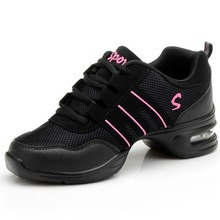 Fitness Sports Shoes Feature Soft Outsole Breath Dance Shoes