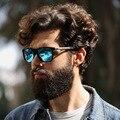 Al-Mg Polarized Espelho Quadrado Óculos de Sol Unissex óculos de Sol de Luxo para Homens Moda Eyewear Oculos de sol Do Vintage Do Sexo Masculino Masculino