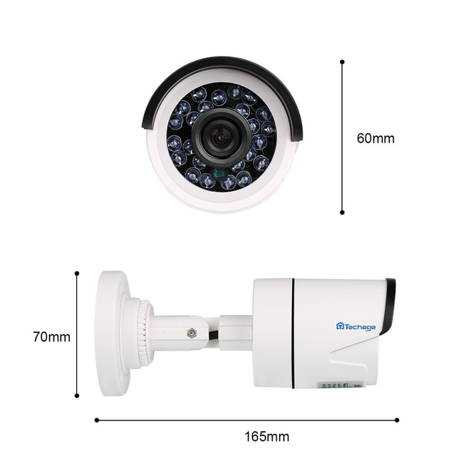 High Definition Video Surveillance Camera 720P Ahd  Analog Outdoor Ir Night Vision Free Shipping BNC Cable And Power Adapter  Are Not Included