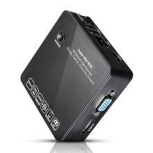 8CH Super MINI NVR ONVIF 1080 P HD Cámara de Red IP CCTV Grabador de Vídeo P2P HDMI E-SATA USB Sistema de Vigilancia