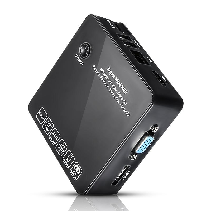 bilder für 8CH Super MINI NVR HD Netzwerk CCTV IP Kamera Video Recorder ONVIF 1080 P E-SATA P2P HDMI USB Überwachungssystem