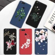 Чехол для телефона huawei Honor 6X 7C 7X 8C 8X TPU Fundas Para Coque для Honor 7A Pro 9 Lite черный матовый чехол