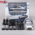 Maisto 2009 NISSAN GTR 1:24 Escala Modelo de Montagem Do Carro Liga de Metal Fundido Carro Coleção de Brinquedos de Alta Qualidade Brinquedos Do Bebê Presente
