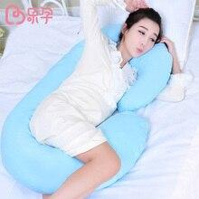 pregnancy pillow C shape pillows soft breastable maternity women sleep pillow for pregnant women font b