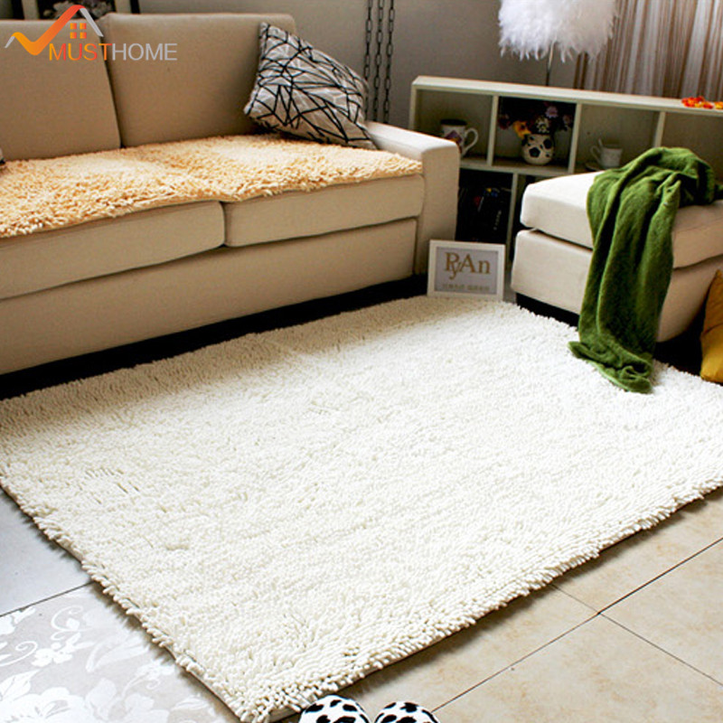 70x160cm 28x63 Chenille Microfiber Living Room Rugs Absorb Water And Dries Quickly