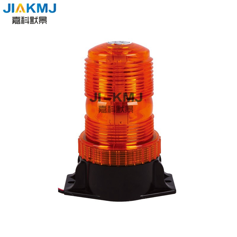 High quality 10 110V DC wide voltage forklift safety warning light, flash warning light can be installed buzzer school Bus