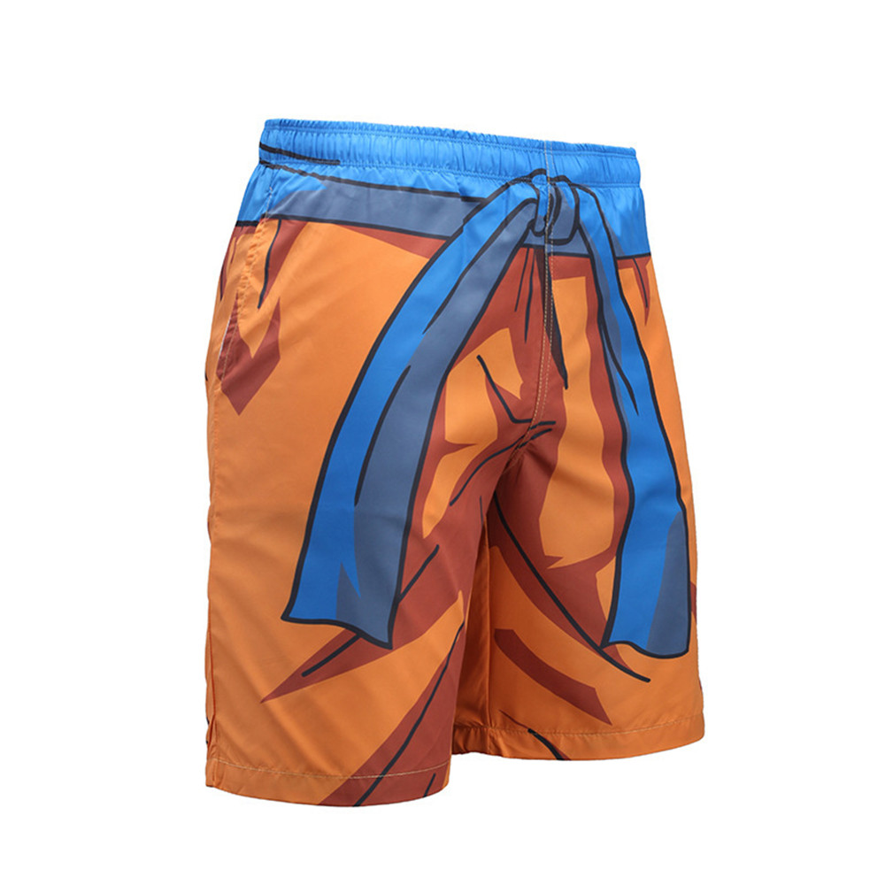 COSPLAY Dragon Ball Pants Compression Trousers Fitness Quick Dry Pant Tight 3D Dragon Ball Z Anime Men Vegeta Goku Pant costumes