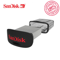 Original de la Unidad Flash USB SanDisk Ultra Ajuste USB3.0 16 GB 32 GB 64 GB 128 GB 150 SDCZ43 MB/S U Disk Mini Pen Drive de Alta Velocidad