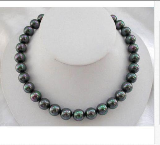 Superbe collier de perles deau douce rondes AAA + + 10-11mm 18 925 sSuperbe collier de perles deau douce rondes AAA + + 10-11mm 18 925 s