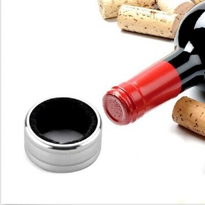 4 CM pratique bouteille liquide verser des outils de goutte en acier inoxydable bouteille de vin goutte preuve anneau d'arrêt