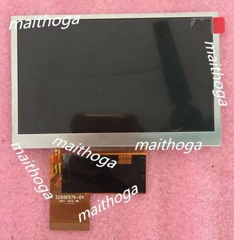 CHIMEI INNOLUX 4.3 นิ้ว 40P TFT หน้าจอ LCD AT043TN25 V.2 WQVGA 480 (RGB) * 272