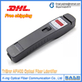 Garantía de tres años Tribrer Vivo Identificador De Fibra 800-1700nm AFI400 Alto Rendimiento Identificador De Fibra Óptica