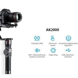 Image 3 - FeiyuTECH AK2000 AK4000 3 Trục Ổn Định Camera Handhel Gimbal Cho Sony Canon 5D Panasonic GH5 Nikon Estabilizador De Camera