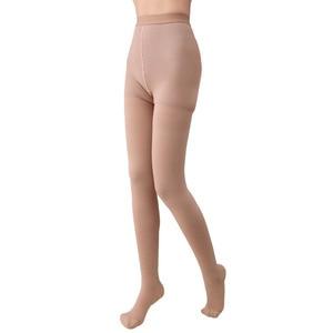 Image 5 - 20 30mmHg Medical Stocking Pressure Black Khaki Nylon Pantyhose Compression Stockings Stovepipe Stockings  2