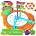 Spirograph Drawing Toys For Children Painting Multi-function Variable Geometric Pattern Creative Puzzle Funny For Kids Gift
