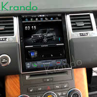 Krando car radio Android 4.4 10.4 Tesla Vertical touch screen player for Range Rover 2011-2013 gps navigation system