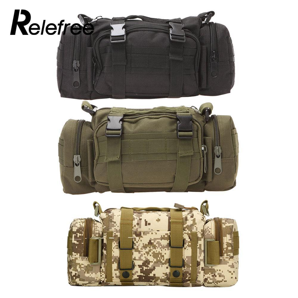 Relefree 3L Outdoor Military Tactical Waist Pack Waterproof Oxford Camping Hiking Pouch Backpack Bag Waist Bags mochila militar outlife new style professional military tactical multifunction shovel outdoor camping survival folding spade tool equipment