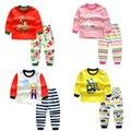 Baby Girl/мальчики мультфильм детская одежда Сна носить одежду из хлопка Набор детей мультфильм Пижамы Костюм дети осень зима Нижнее Белье