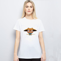 Topjini New Arrival Summer Plus Size Fashion Animal O-Neck Women Tops Short Sleeve Print S - 6XL Female T Shirts