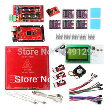 Geeetech New Heatbed MK2a+DRV8825 Stepper Driver+LCD2004 Display+ RAMPS1.4+Mega2560,thermistor etc. for 3D Printer Prusa Mendel