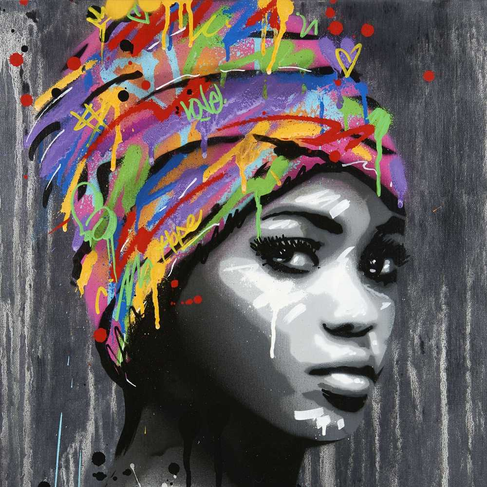 Detail Feedback Questions About Graffiti African Girl Poster Canvas