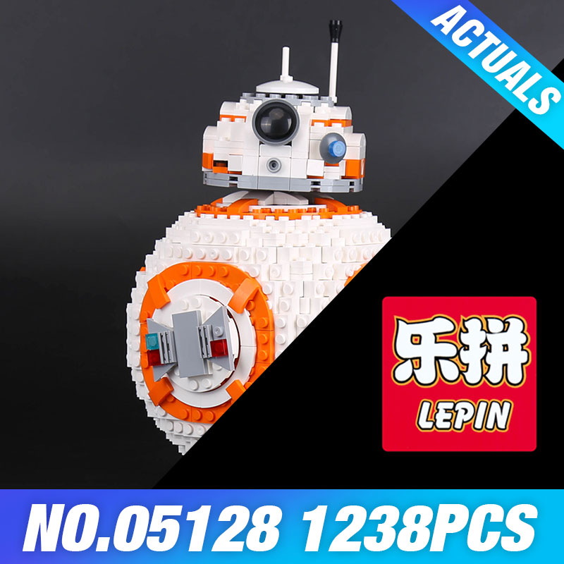 Фотография Lepin 05128 The B Double B 8 Robot Set Genuine 1238Pcs Star Plan Series 75187 Building Blocks Bricks Toys DIY Educational Gifts