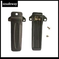 מכשיר הקשר 10 X חגורת מכשיר הקשר קליפ עבור המשלוח חינם רדיו KENWOOD TK-2207 TK3207 TK2207G TK3207G שני בדרך (1)