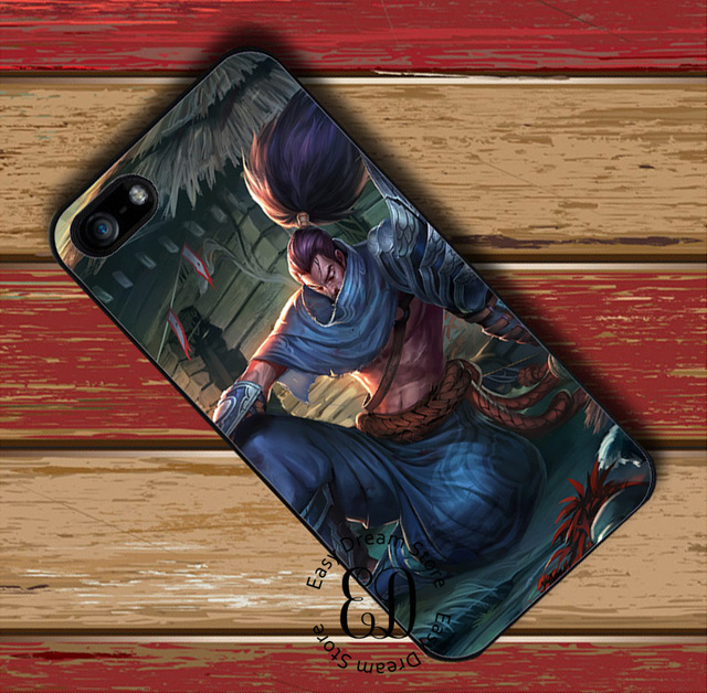 Yasuo League Of Legends LOL Case For Iphone X 4s 5s SE 5c 6 6s 7