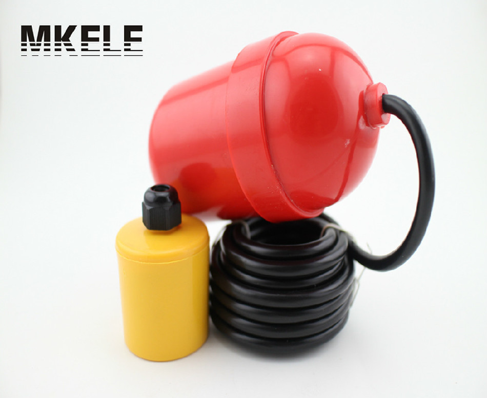 Liquid level float switch sewage pool water level controller cable type liquid level switch anti corrosion pp plastic duckbill type side mounted float switch level switch water level switch level sensor