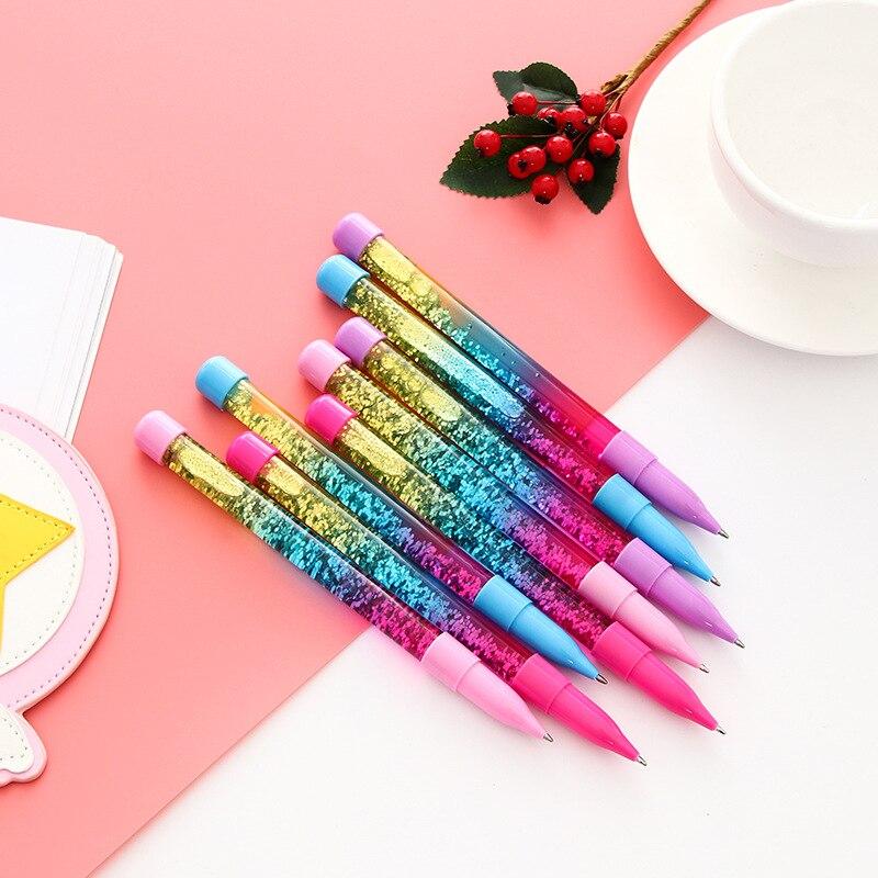48pcs 1 lot Kawaii Ballpen The magic fairy Ballpoint Pens Pens School Stationery Writing Supplies Office
