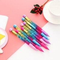 48pcs/1 lot Kawaii Ballpen The magic fairy Ballpoint Pens Pens School Stationery Writing Supplies Office Supplies
