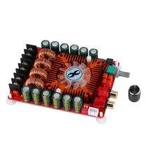 TDA7498E High Power Digital Power Amplifier Board 2x160w Stereo BTL220W Mono HF39 Durable Digital Power Amplifier Board 160w 2 bluetooth tda7498e home digital amplifier stereo hi fi audio power amplifier apt x