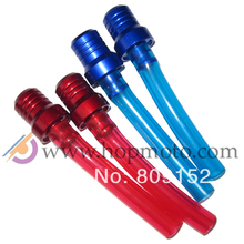 Fuel Breather Vent Valve Red/Blue Clear Hose for dirt bike/pit bike/ATV parts fuel tank cap use