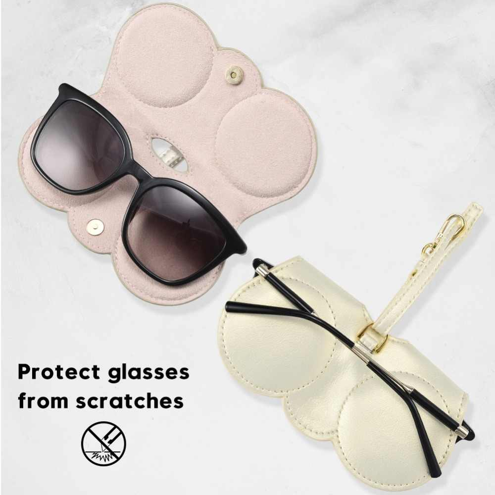 5c7048aed00b ... Sunglasses Protector Bag Solid Suncover Eye Glasses Bags Glasses  Storage Holder Case Women Bag Hanging Ornament ...