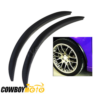 25cm 33cm Universal Car Auto Truck Fender Flares Mud Flaps Splash Guards Arch Wheel Eyebrow Lip For Ford Honda Toyota Mazda image