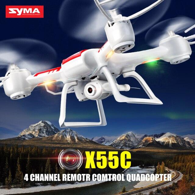 Syma X55G X55C дрон с камерой HD X55 гул без камеры 4CH 6-axis квадрокоптер с камерой бпла дистанционного управления самолета детские игрушки приколы приколы