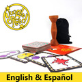 English Spanish jungle speed board game, good package card game play with friend party game table game spot