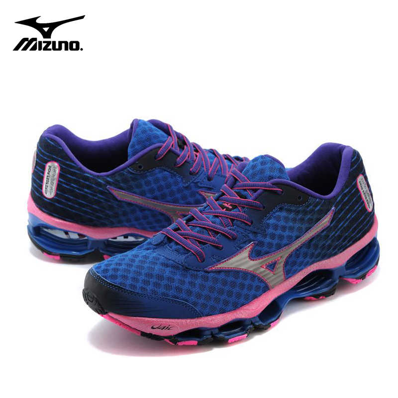 733d4fc31676 ... Original Mizuno Wave Prophecy 4 Women Sneakers Breathable Mesh Sport  Shoes Blue Stable Weight lifting Shoes ...
