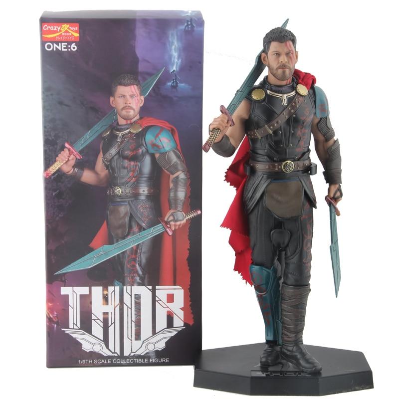 Marvel Avengers Thor Action Figures 1/6 Crazy Toys 32cm