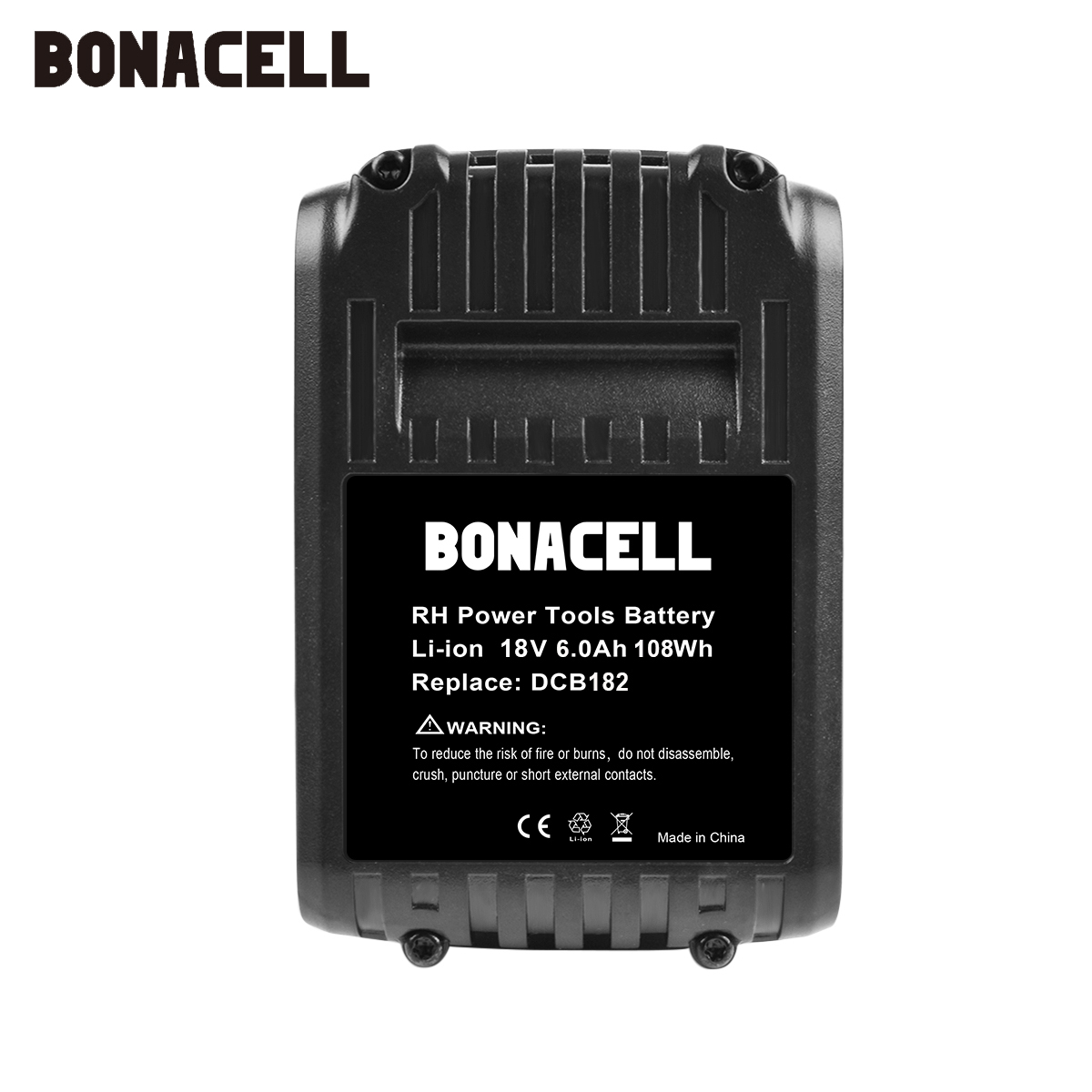 Image 5 - Bonacell 6000mAh 18V for Dewalt Power Tool Battery for DCB180 DCB181 DCB182 DCB201 DCB201 2 DCB200 DCB200 2 DCB204 2 L10-in Replacement Batteries from Consumer Electronics