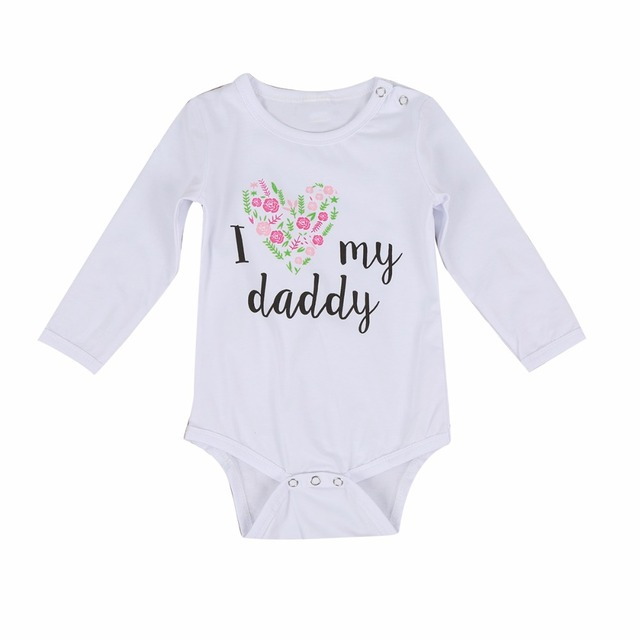 9140f13b4 baby girl boy clothes print cotton long sleeve baby romper jumpsuit ...